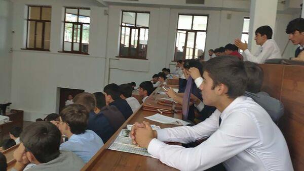 Студенты на выставке-презентации Образование в России старт успешного будущего - Sputnik Таджикистан