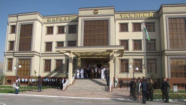 В Душанбе открыли новый Республиканский учебно-методический центр КЧС - Sputnik Таджикистан