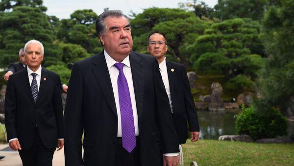 Президент Таджикистана Эмомали Рахмон прибыл с официальным визитом в Японию - Sputnik Тоҷикистон