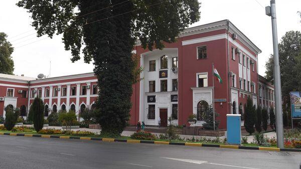 Национальный банк республики Таджикистан. Архивное фото - Sputnik Тоҷикистон