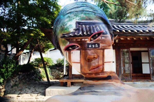 Картина художницы Дейн Юн из Южной Кореи - Sputnik Таджикистан