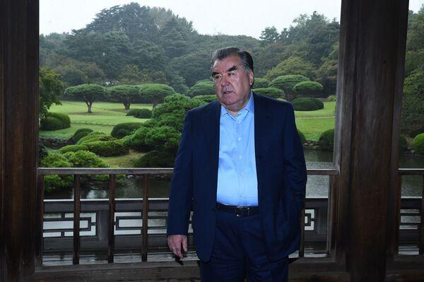 Президент Таджикистана Эмомали Рахмон в Японии - Sputnik Таджикистан