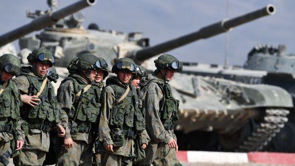 Учения ОДКБ Взаимодействие-2018 - Sputnik Таджикистан