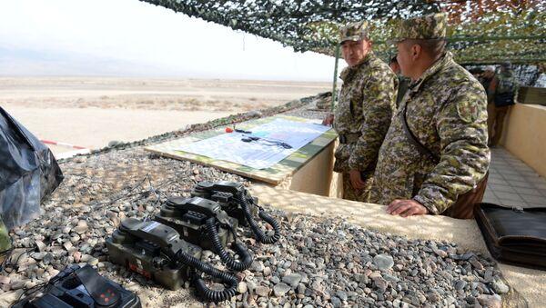 Военные учения ОДКБ, архивное фото - Sputnik Таджикистан