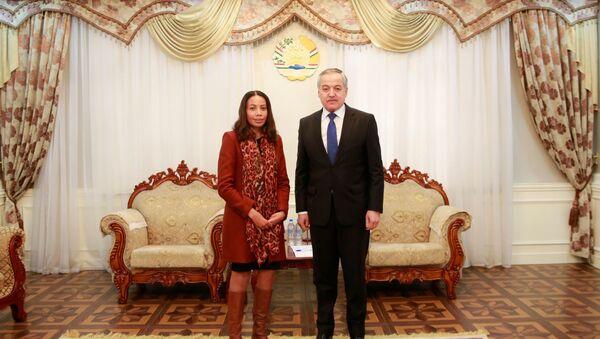 Встреча Министра иностранных дел Таджикистана с новым Главой Представительства Европейского Союза в Таджикистан - Sputnik Тоҷикистон