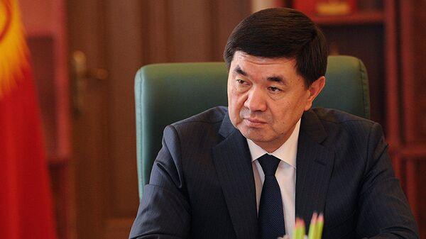Премьер-министр Кыргызстана Мухаммедкалый Абылгазиев  - Sputnik Таджикистан