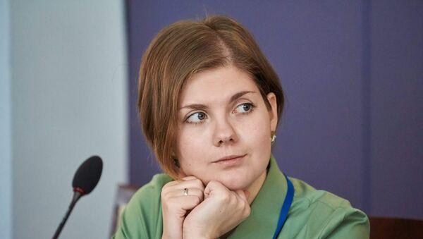 Директор Центра комплексных европейских и международных исследований НИИ ВШЭ Анастасия Лихачева  - Sputnik Таджикистан