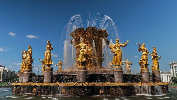 Дружба народов, главный фонтан ВДНХ - Sputnik Таджикистан