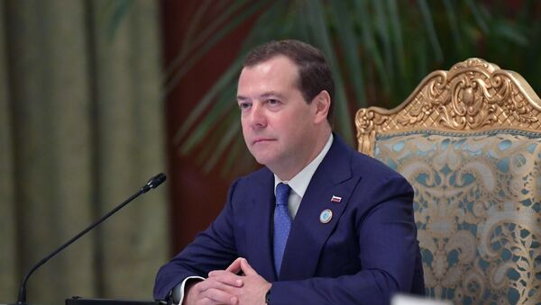 Премьер-министр России Дмитрий Медведев  - Sputnik Таджикистан