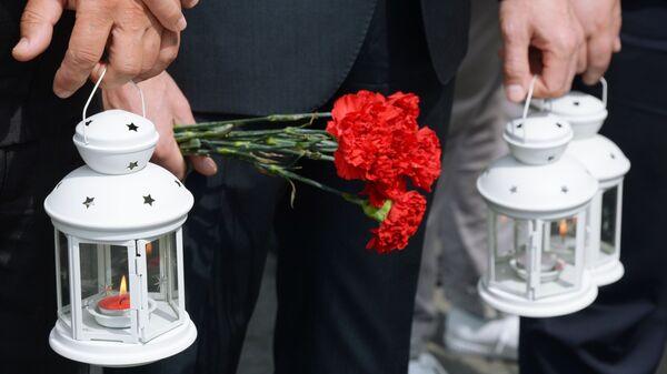 Международная акция Свеча памяти, архивное фото - Sputnik Таджикистан