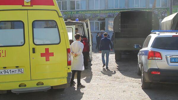 Нападение на керченский колледж - Sputnik Таджикистан