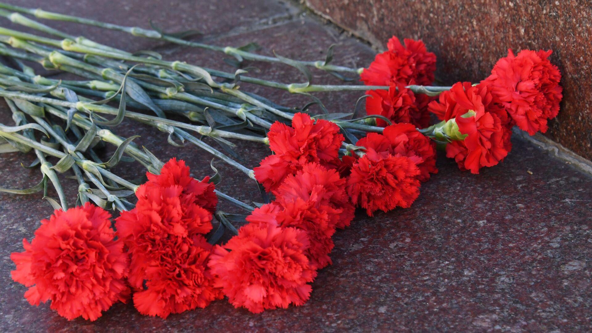 Акции памяти о погибших при нападении на колледж в Керчи - Sputnik Таджикистан, 1920, 28.09.2021
