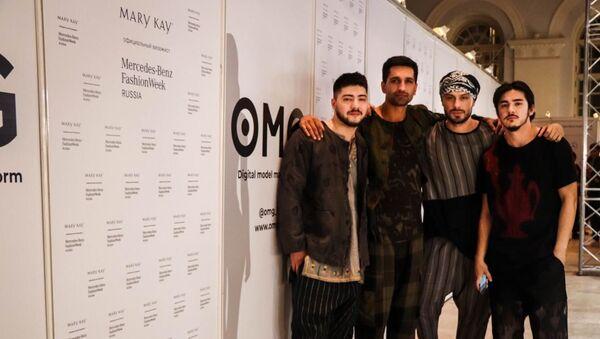 Mercedes-Benz Fashion Week Russia, показ NOMAD Homme - Sputnik Таджикистан