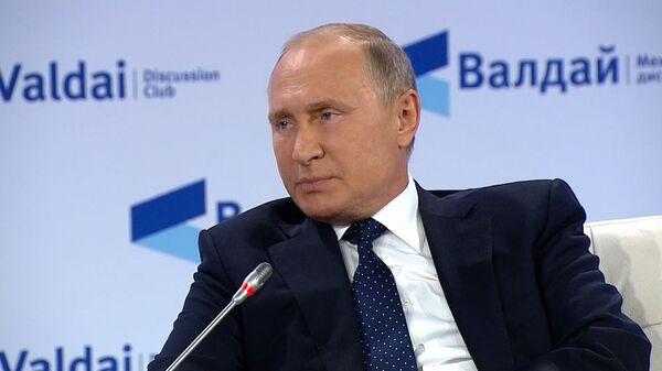 Путин об ответе на ядерный удар по РФ - Sputnik Таджикистан