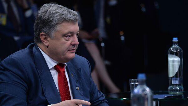 Президент Украины Петр Порошенко - Sputnik Таджикистан