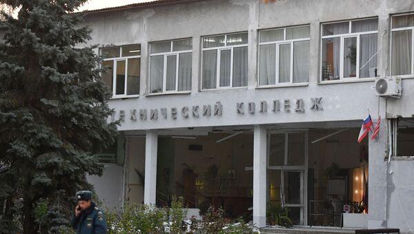 Политехнический колледж в Керчи после взрыва - Sputnik Таджикистан