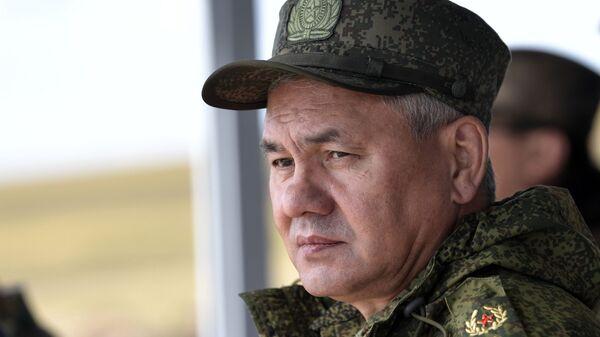 Министр обороны РФ, генерал армии Сергей Шойгу, архивное фото - Sputnik Таджикистан