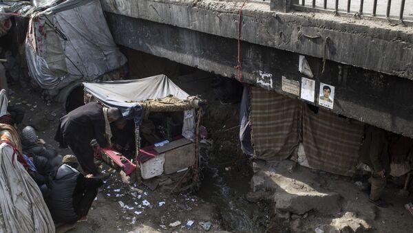 Наркопритон в Кабуле, архивное фото - Sputnik Таджикистан