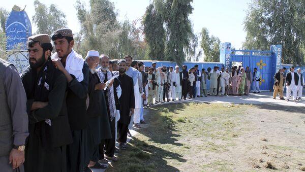 Выборы в Афганистане - Sputnik Таджикистан
