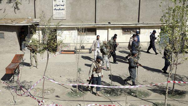 Взрыв в день парламентских выборов в Афганистане - Sputnik Таджикистан