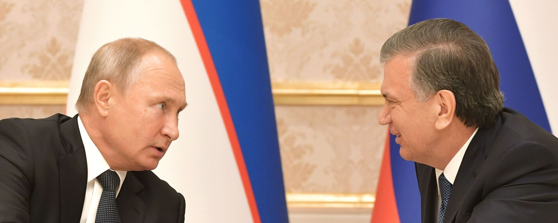 Государственный визит президента РФ Владимира Путина в Узбекистан - Sputnik Таджикистан, 1920, 07.05.2021