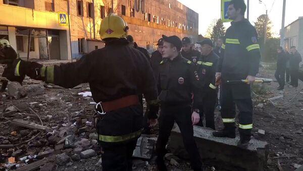 Взрыв на заводе пиротехники Авангард в Ленинградской области, архивное фото - Sputnik Таджикистан