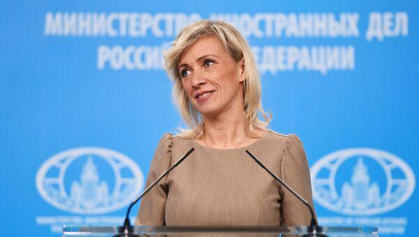 Брифинг официального представителя МИД России М. Захаровой - Sputnik Таджикистан