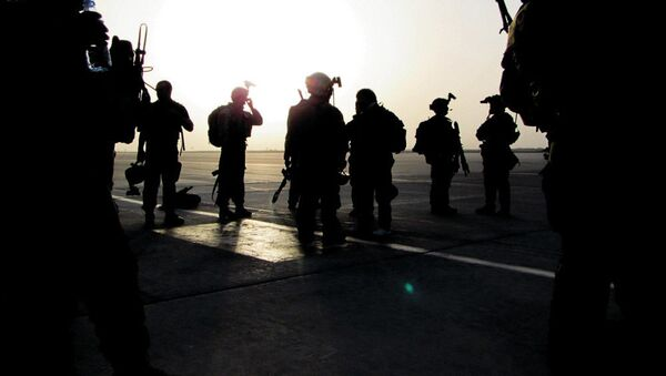 Солдаты спецназа США (зеленые береты) в Афганистане. Архивное фото - Sputnik Тоҷикистон
