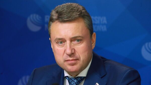Председатель Постоянной комиссии Парламентской Ассамблеи ОДКБ Анатолий Выборный - Sputnik Таджикистан