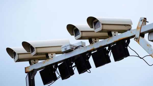 Камеры фиксации нарушений правил дорожного движения, архивное фото - Sputnik Тоҷикистон