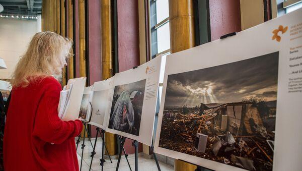 Выставка лауреатов конкурса им. Стенина-2018 в штаб-квартире ООН - Sputnik Таджикистан