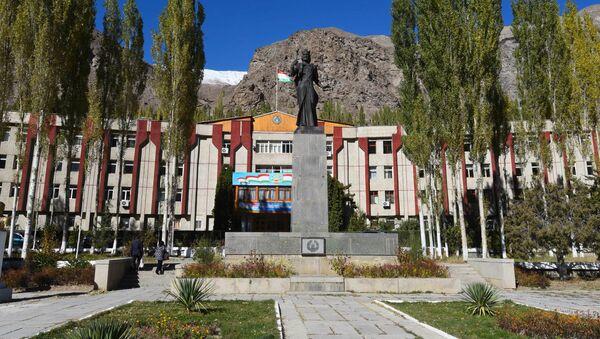 Здание администрации города Хорог, архивное фото - Sputnik Тоҷикистон
