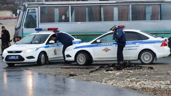 Полицейские машины, архивное фото - Sputnik Таджикистан
