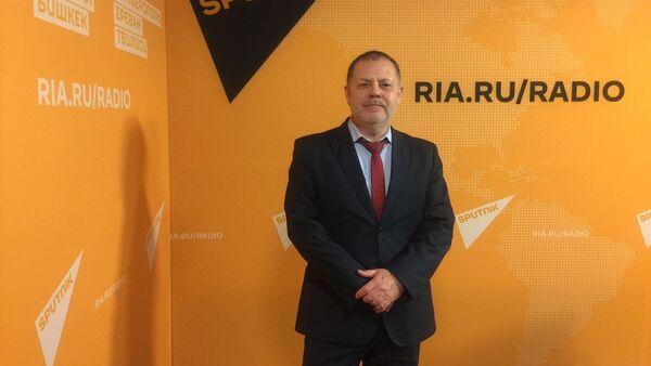 Председатель Экспертного совета Фонда поддержки научных исследований Григорий Трофимчук   - Sputnik Тоҷикистон