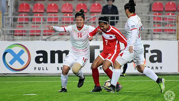 Женская сборная Таджикистана по футболу  - Sputnik Таджикистан