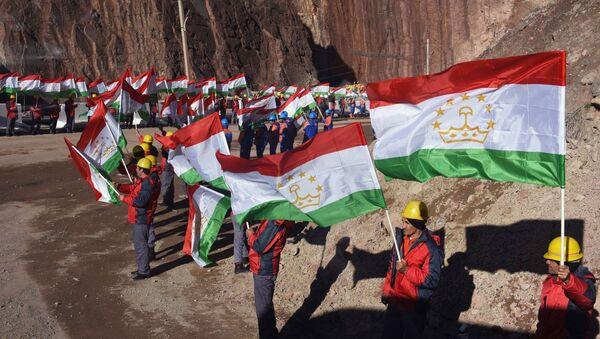Открытие первого гидроагрегата на Рогунской ГЭС в Таджикистане  - Sputnik Таджикистан