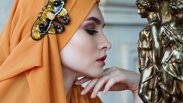 Красивая девушка, архивное фото - Sputnik Таджикистан