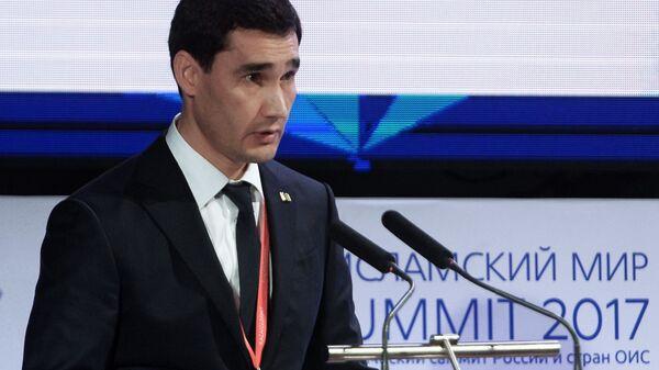 Сын президента Туркменистана Сердар Бердымухамедов занимает должность заместителя министра иностранных дел - Sputnik Тоҷикистон