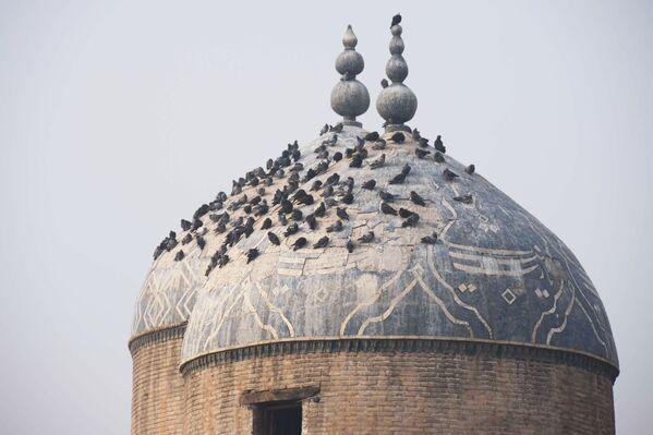 Купола Мавзолея Шейха Муслихиддина в городе Худжанде, архивное фото - Sputnik Таджикистан