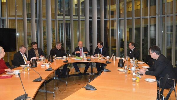 Посол Таджикистана в германии Сохибназар Гайратшо встретился с немецкими парламентариями - Sputnik Тоҷикистон