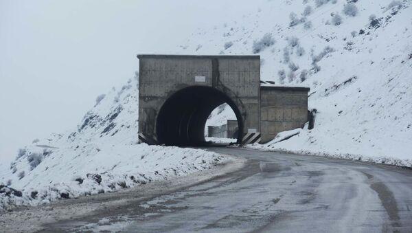 Противолавинный тоннель, архивное фото - Sputnik Тоҷикистон