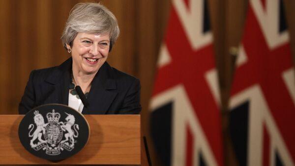 Премьер-министр Великобритании Тереза Мэй - Sputnik Таджикистан