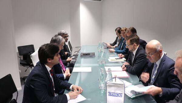 Встреча главы МИД Таджикистана с руководителем ОБСЕ  - Sputnik Тоҷикистон