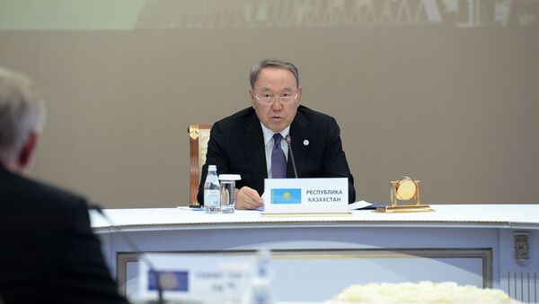 Президент Казахстана Нурсултан Назарбаев, архивное фото - Sputnik Таджикистан