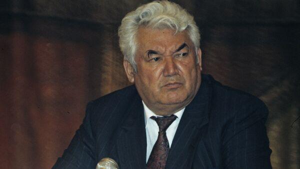 Президент Республики Таджикистан Рахмон Набиевич Набиев, архивное фото - Sputnik Тоҷикистон