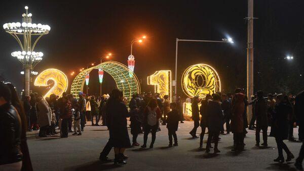 Новогодний Душанбе - Sputnik Таджикистан