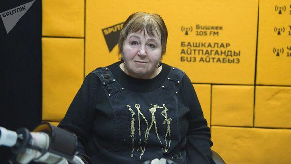 Представитель Центра защиты детей Фатима Аллоярова. Архивное фото - Sputnik Тоҷикистон