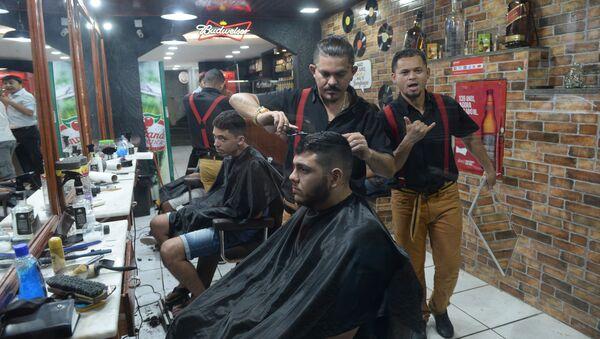 Салон парикмахерской, архивное фото - Sputnik Таджикистан