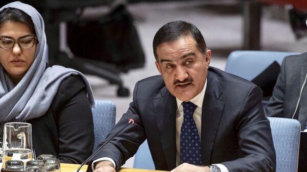 Выступление Постоянного представителя Республики Таджикистан на заседании Совета Безопасности ООН по Афганистану - Sputnik Тоҷикистон