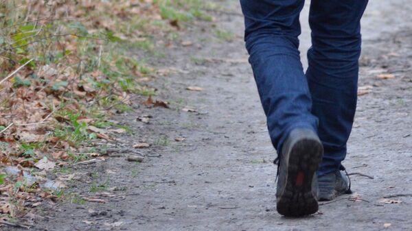 Человек убегает, архивное фото - Sputnik Тоҷикистон